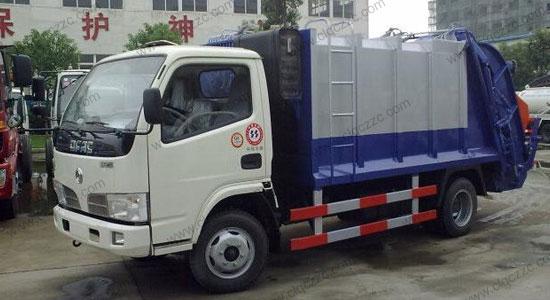 3-5方东风福瑞卡压缩垃圾车